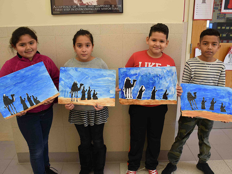 Park Avenue Students Celebrate Three Kings Day