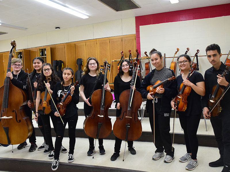 Repeat Recognition for Amityville Music Program