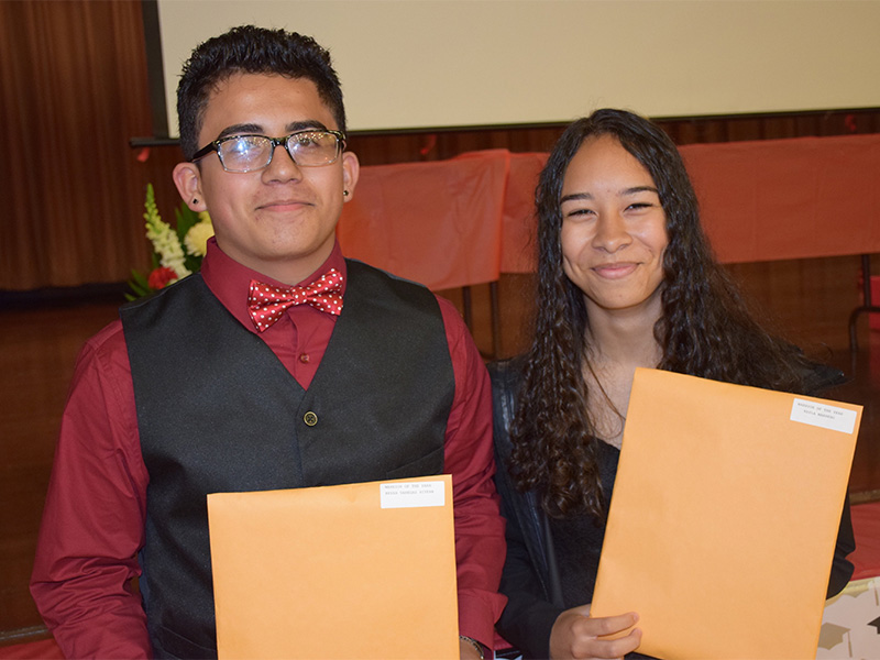 Ninth Graders Promoted to High School
