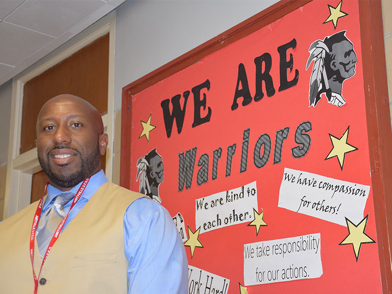 Middle School Dean Named Assistant Principal