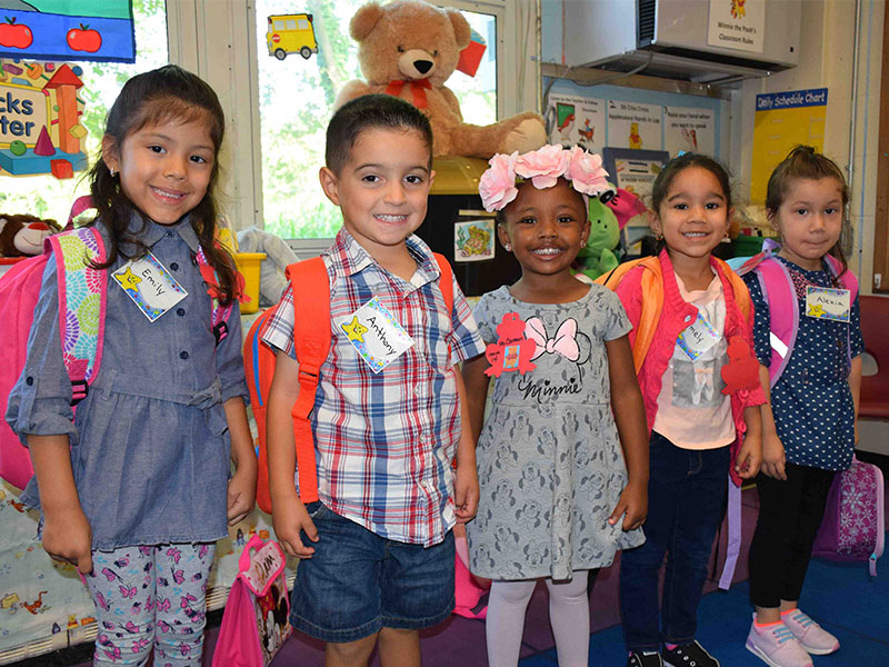 Northeast Welcomes Pre-K Students