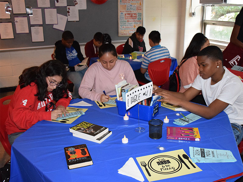 Eighth-Graders Get a Taste of Good Literature