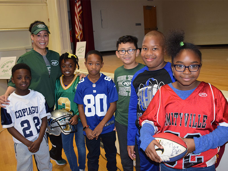 History-Making Coach Inspires Park Avenue Students