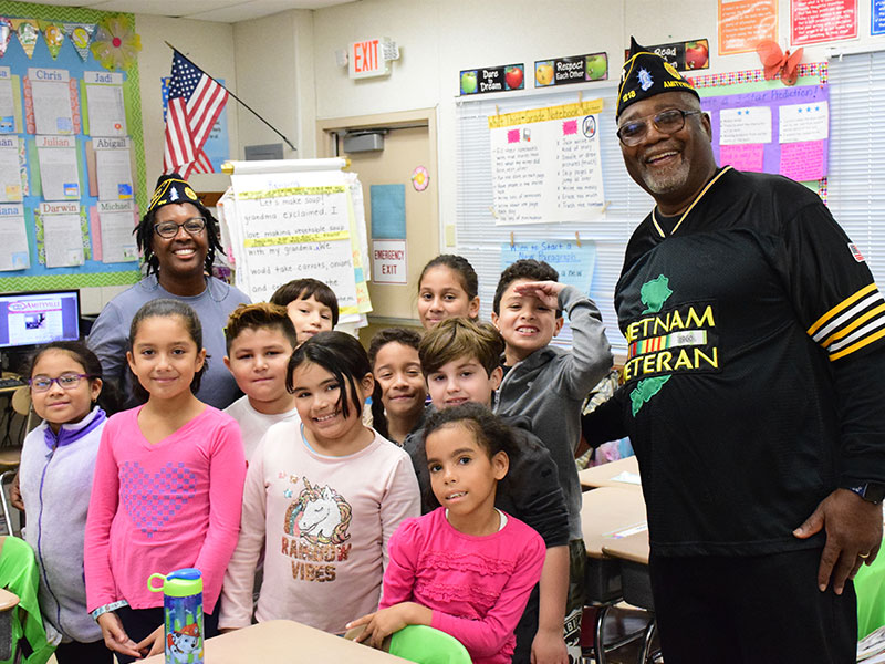 Northwest Students Make Personal Connections With Veterans