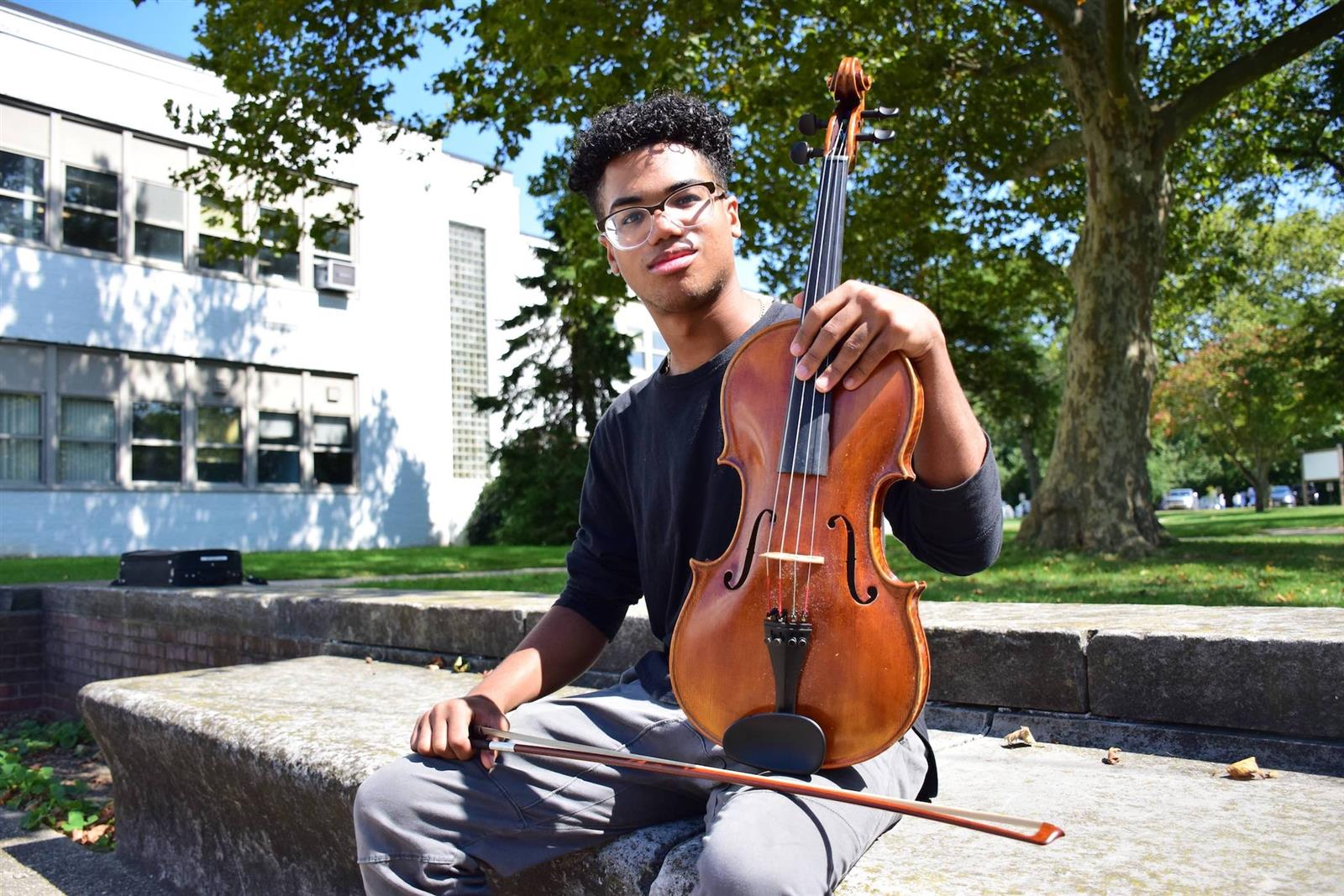 Violist earns All-National Music Selection