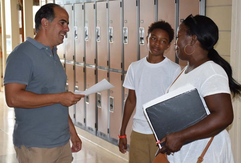 Middle School Welcomes Seventh Graders