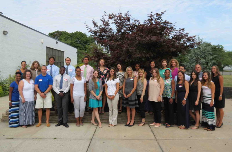 District Welcomes Newest Educators