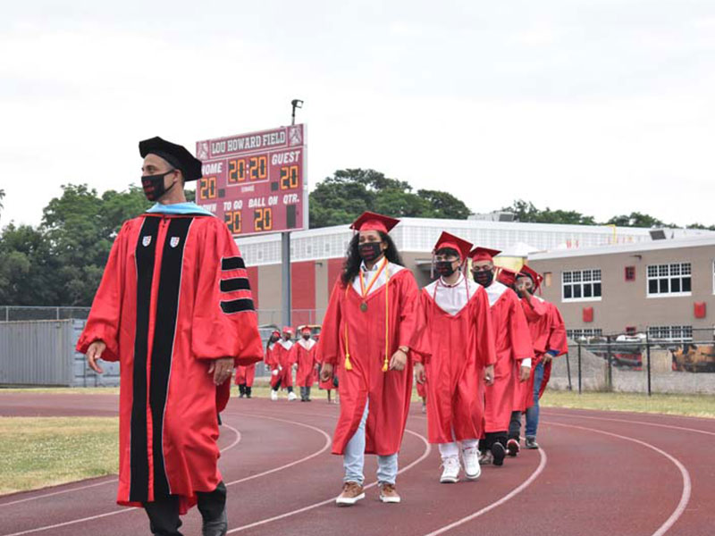 Amityville Graduation is Five Times as Special