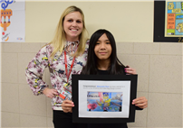 Youth Art Month Award Winner